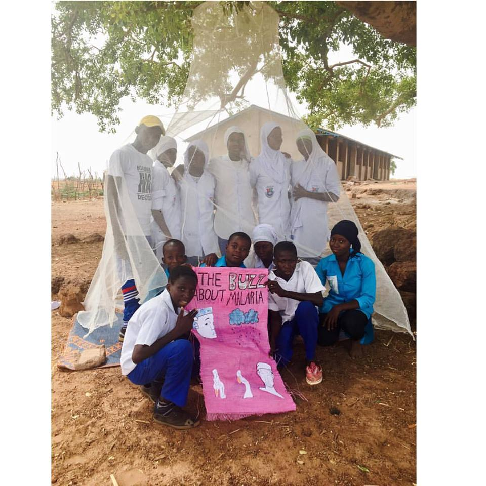 school malaria health talk